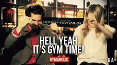 "gymaaholic: "" Hell Yeah It's Gym Time! Can't be more excited. http://www.gymaholic.co """