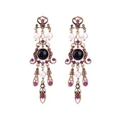 2017 New Fashion Simulated Pearl Hanging Earrings For Women Charm Long Crystal Vintage Earrings Jewelry