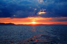 New free stock photo of sea landscape mountains