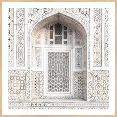 Iwan at Itmad-Ud-Daulah's Tomb, Agra Mughal Architecture, Architecture Details, Architecture Portfolio, Persian Architecture, Architecture Logo, Historical Architecture, Agra, Taj Mahal Interior, Islamic Art