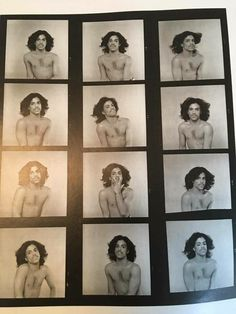 Look at these fantastic outtakes from Prince's photoshoot for the cover of his second self titled album in 1979. Amazing