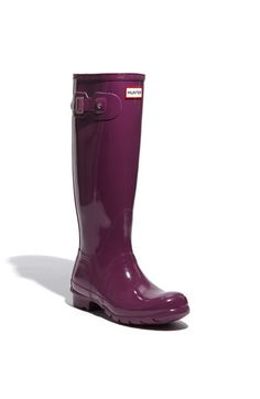 Hunter boots! I want a pair so bad