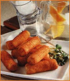 Potato Croquettes - I love these with boysenberry jam.