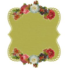 Vintage Frame 4 by Free Pretty Things For You!, via Flickr