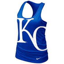 Kansas City Royals Women's Loose Fit Racerback Tank by Nike