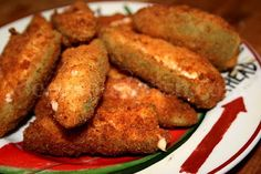 Fried Jalapeno Poppers..different recipe than mine. Wanna try this one