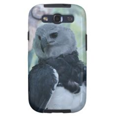 Harpy Eagle Samsung Galaxy S3 Cover - $56.95 - Harpy Eagle Samsung Galaxy S3 Cover - by RGebbiePhoto @ zazzle - This beautiful eagle captures arboreal mammals (primarily sloths and monkeys), and occassionally birds and reptiles. Photograph taken in captivity at a sanctuary in Idaho.