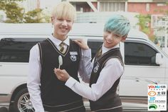 """""""Dream Knight"""" reveals photo teasers ft. GOT7 in school uniforms (Yugyeom and Bambam)"""