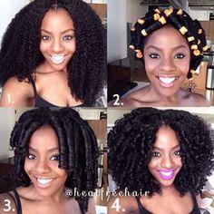 Heat Free™ Hair Movement @heatfreehair Step By Step la...Instagram photo   Websta (Webstagram)