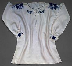 Camisa de traje feminino de festa, Lavradeira de Viana do Castelo, 20th century