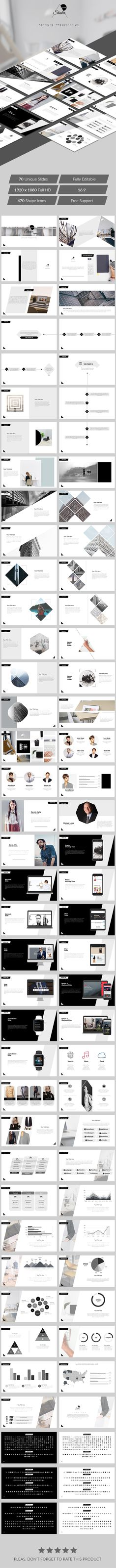 Clean presentation powerpoint templates pinterest template shaker keynote presentation keynote templates presentation templates toneelgroepblik Image collections