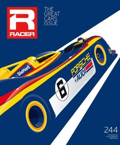 Well done Racer, the cover is a work of art!#Repin By:Pinterest++ for iPad#