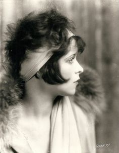 "Clara Gordon Bow (July 29, 1905 – Sept 27, '65) American actress, rose to stardom in silent film during 1920s.  Appearance as plucky shopgirl in film ""It"" that brought her global fame & nickname ""The It Girl"". Bow came to personify Roaring Twenties, described as its leading sex symbol. Appeared in 46 silent films, 11 talkies, including Mantrap ('26), It ('27) & Wings (.27). Named 1st box-office draw 1928 '29, 2nd box-office draw, 1927 & 1930.  http://screendeco.wordpress.com/"