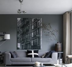 cool moody living room