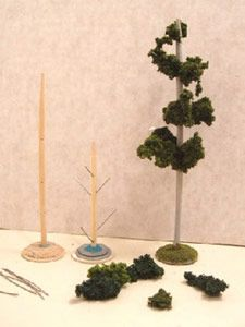 Reaper Miniatures :: How to make your own trees for scenes.