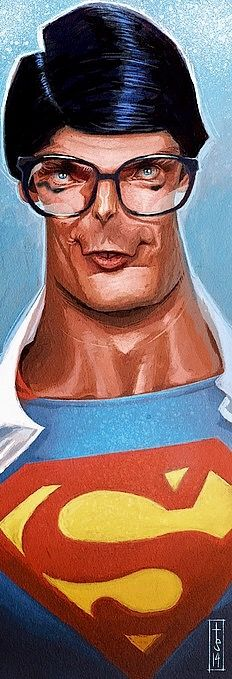 Christopher Reeve (Superman) by Bruno Tesse
