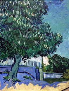 Chestnut Tree in Blossom ~ Vincent van Gogh