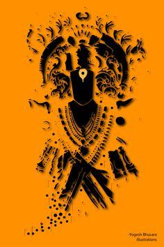 Vitthal vector art Shiva Art, Krishna Art, Hindu Art, Hacker Wallpaper, Hd Wallpaper, Aghori Shiva, Shri Ganesh Images, Horse Stencil, Lord Vishnu Wallpapers