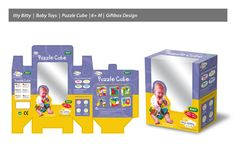 Baby Toys Packaging Design by Niño Marcos Kanapi, via Behance