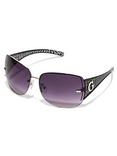 3951e421837 GUESS Womens Rimless Shield Sunglasses -- You can find out more details at  the link