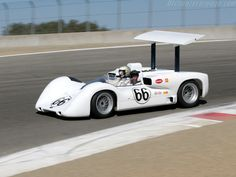 Chaparral 2E - @ '05 Monterey Historic looks it is dropping into the corkscrew.