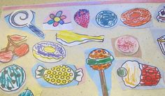 Make a Placemat with Colored Art     Cut out a rectangular piece of contact paper to be the size of a placemat.  Let your child cut out pictures from a coloring book and place the pictures on top of the contact paper.  Cover the completed collage with another matching piece of contact paper