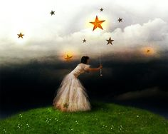 Lighting Up The Night Sky [revisited]  by Jena DellaGrottaglia