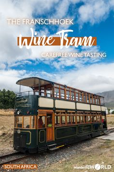 Franschhoek Wine Tram – Carefree Wine Tasting near Cape Town - Africa safari trip - Wein Visit South Africa, Cape Town South Africa, Africa Destinations, Travel Destinations, Safari, Africa Travel, Wine Tasting, Villa, Tours