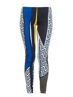 Aho geometric-print leggings | No Ka 'Oi | MATCHESFASHION.COM
