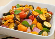 Oven-Roasted Vegetables with Rosemary, Bay Leaves and Garlic. Making your meals healthy doesn't mean forgoing the flavor. Here are some savory herbs to keep your taste buds spinning and your body applauding.