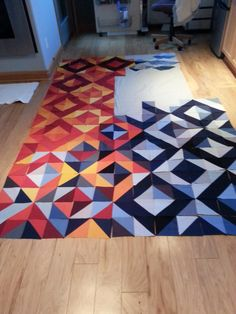 KMA Quilt: initial layout