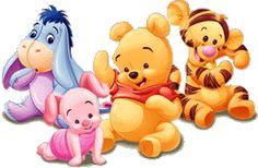 imagenes de Pooh y amigos bebe
