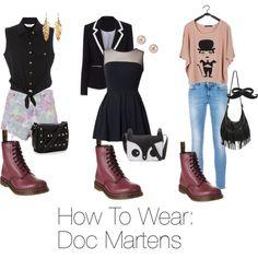 how to wear doc martens   How To Wear: Doc Martens.
