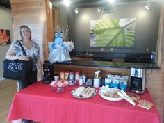 Mandy and Hootie from Schoettler Village Apartments about to partake in the Coffee Social!