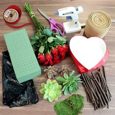 Materials Needed, Arranged with Love: Beautiful Valentine's Day Flowers for Everyone