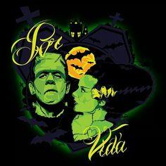 Frankenstein & Bride