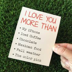Items similar to I love you card / I love you more than card / Funny Relationship card / Funny love card / Funny anniversary card / Funny dating card / ldr on Etsy
