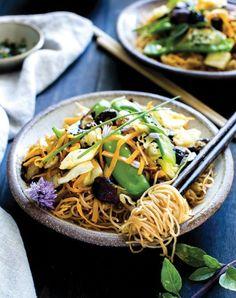 eat clean noodle bowl