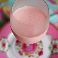 gelatina morango com kefir