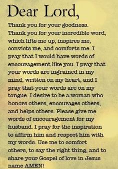 words of encouragement, quotes, sayings, dear lord Prayer Scriptures, Bible Prayers, Faith Prayer, God Prayer, Power Of Prayer, Prayer Quotes, Spiritual Quotes, Thankful Prayers, Husband Prayer