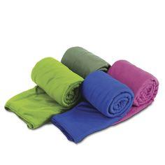 Klein, leicht und extrem saugfähig: die Pocket Reisehandtücher für unterwegs! #wieeinfach