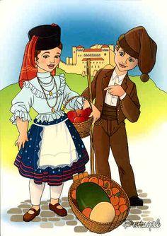 Trajes típicos LEIRIA - PORTUGAL