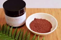 Aloe Vera For Skin, Aloe Vera Face Mask, Clay Face Mask, Clay Masks, Homemade Face Masks, Fern, Cleanse, Etsy Shop, Pink
