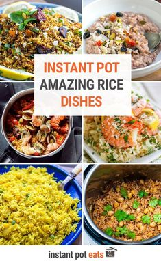 These amazing Instant Pot rice recipes are a delicious vehicle for protein, veggies, beans and more in these flavorful dishes, from Italian risotto and Spanish paella to rice pudding for your sweet tooth! These are must-try pressure cooker rice dishes.