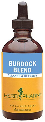 Herb Pharm Burdock Blend Extract to Support Cleansing  Detoxifying  4 Ounce * To view further for this item, visit the image link.