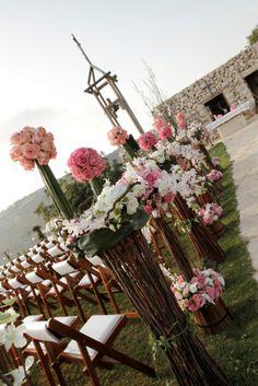 Arnaoon village wedding venue in lebanon white ceremony church flower arrangements arnaoon village batroun north lebanon junglespirit Images