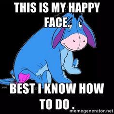 Eeyore Quotes, Winnie The Pooh Quotes, Winnie The Pooh Friends, Disney Winnie The Pooh, Baby Disney, Tigger Disney, Disney Pics, Eeyore Pictures, Funny Pictures