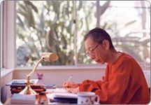 My Guru working very hard to help all living beings find everlasting happiness! Geshe Kelsang Gyatso: Author of Modern Buddhism