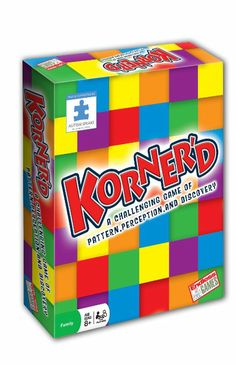 Korner'd a Fun Visual Game for Kids on the Autism Spectrum Discovery Games, Rainbow Resource, Vision Therapy, Visual Aids, Kids Board, Children With Autism, Autism Spectrum, Toy Store, Holiday Gift Guide