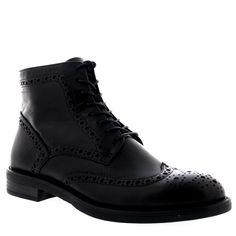 Amazon.com: Womens Vagabond Amina Combat Brogue Black Casual Leather Ankle Boots: Clothing